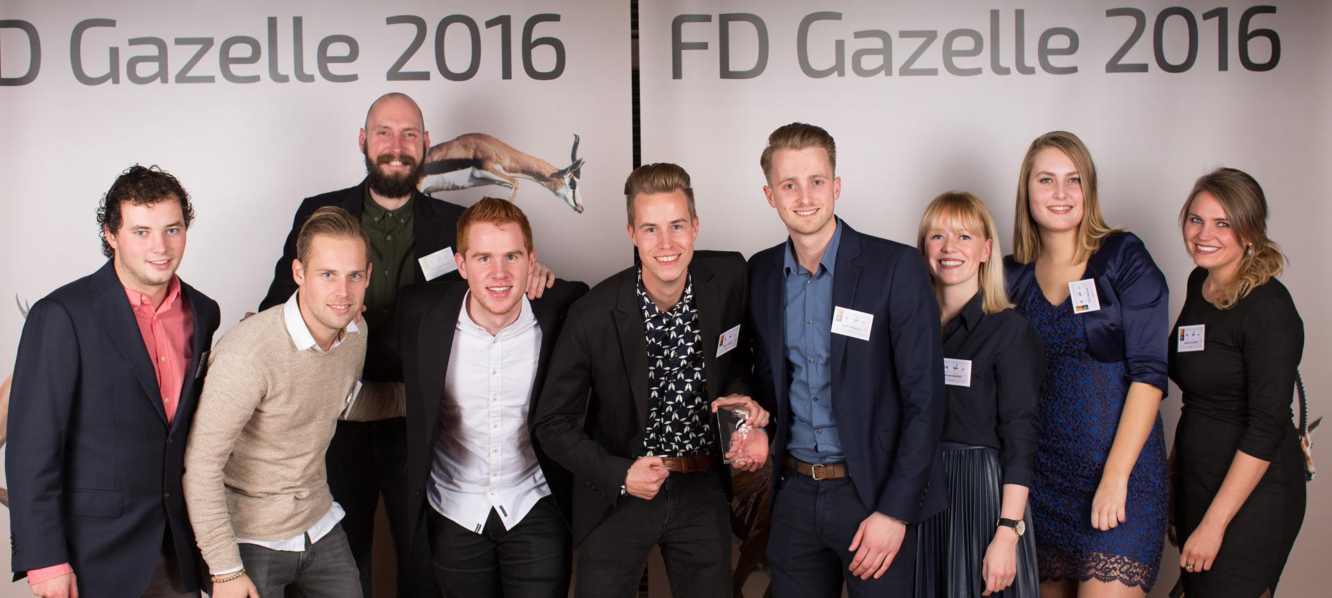 FD Gazellen uitreiking 2016