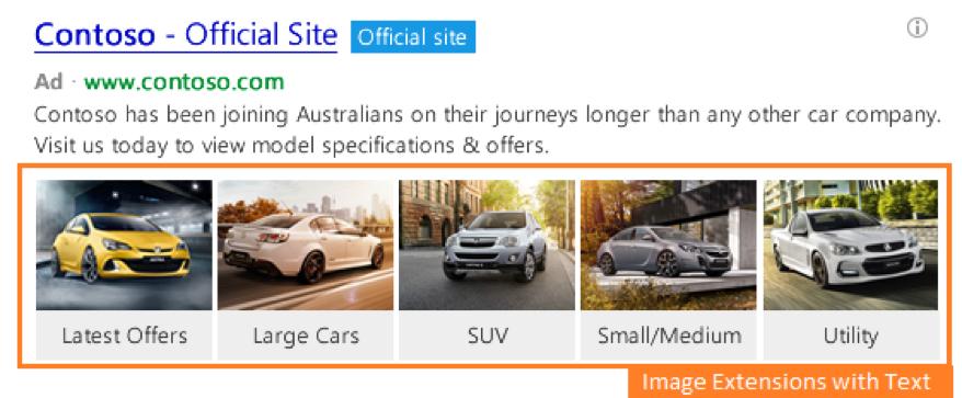 Bing Ads Image Extensie