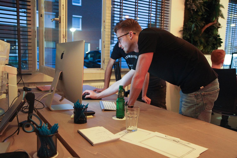 Hackathon Overleggen