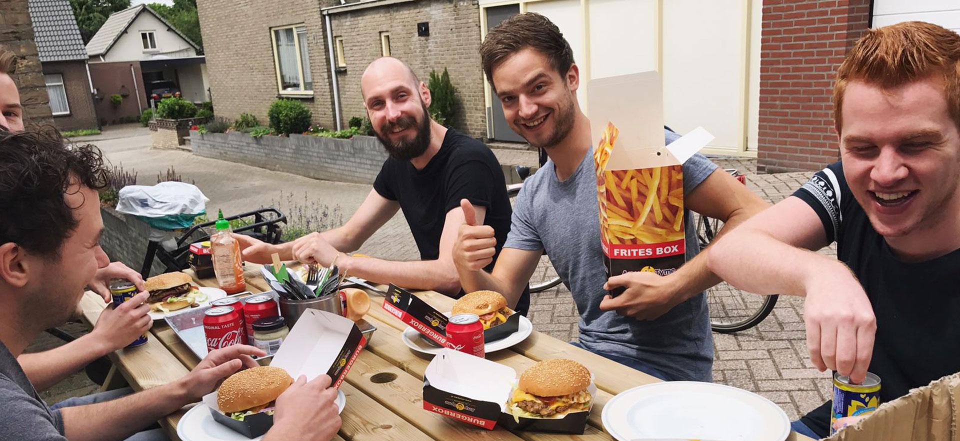 Joost Hamburgers Besteld