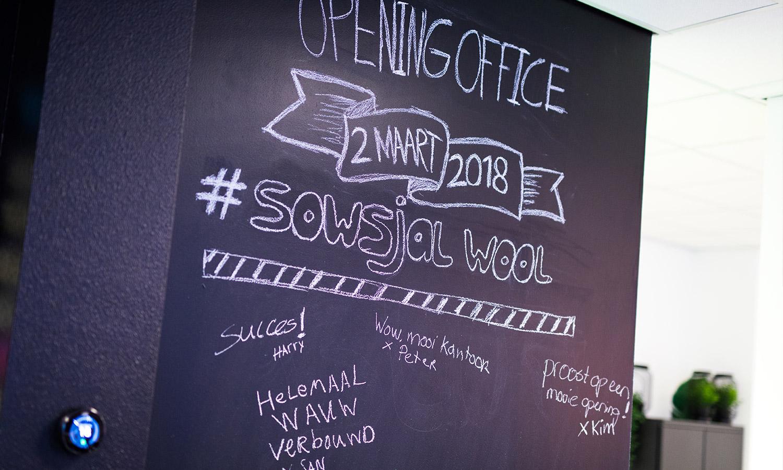 Opening kantoor Buro 3 Deurne Sowsjalwool