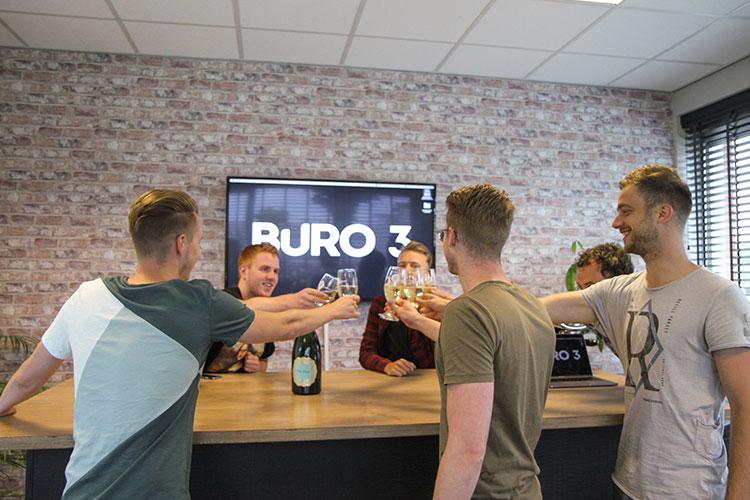 Buro 3 rebranding toast