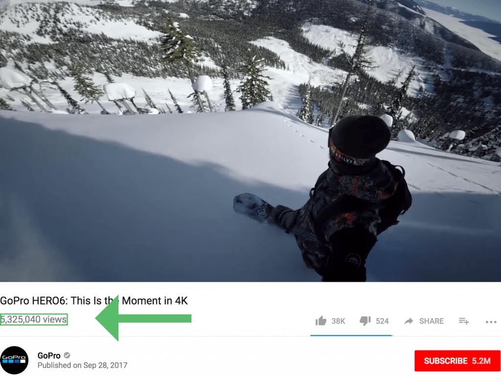 Youtube Video GopPro