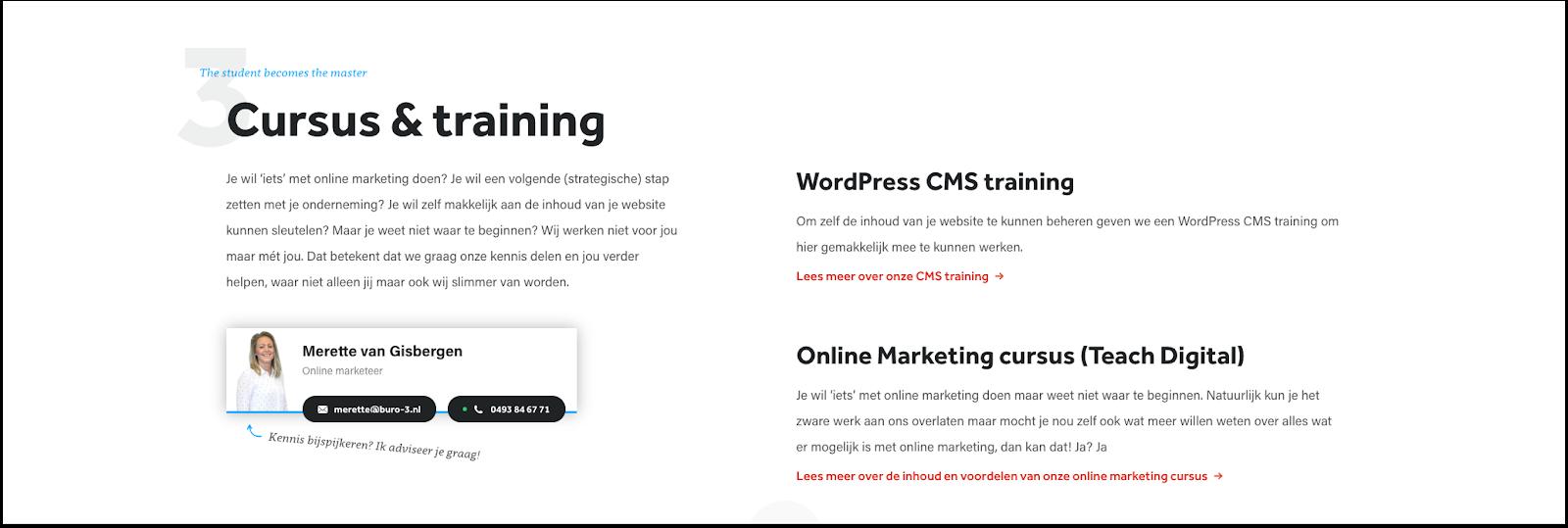 Tekstgebruik in webshopdesign
