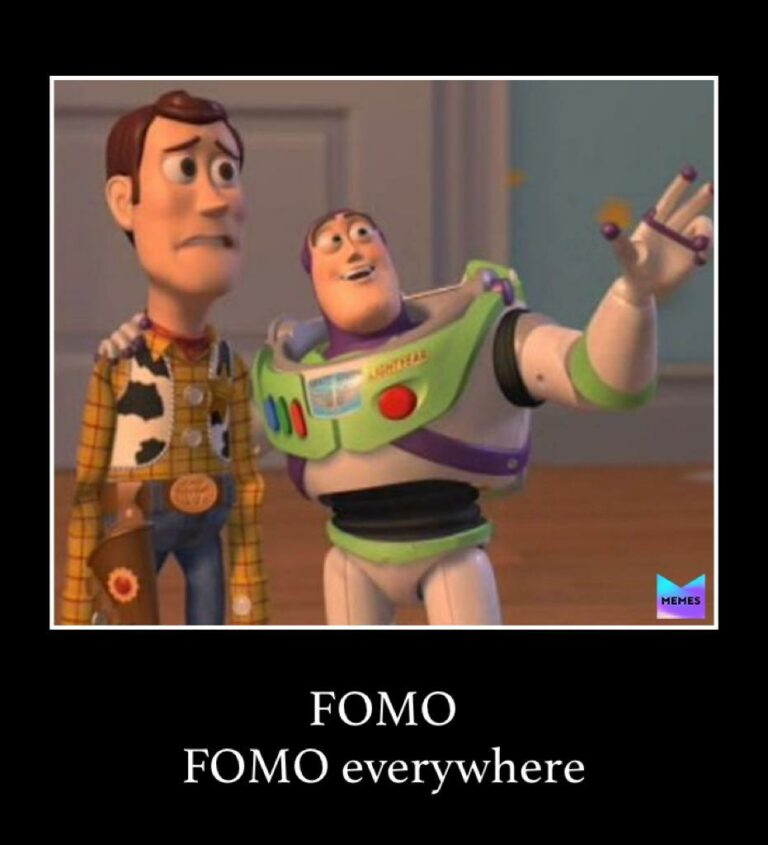 fomo everywhere meme