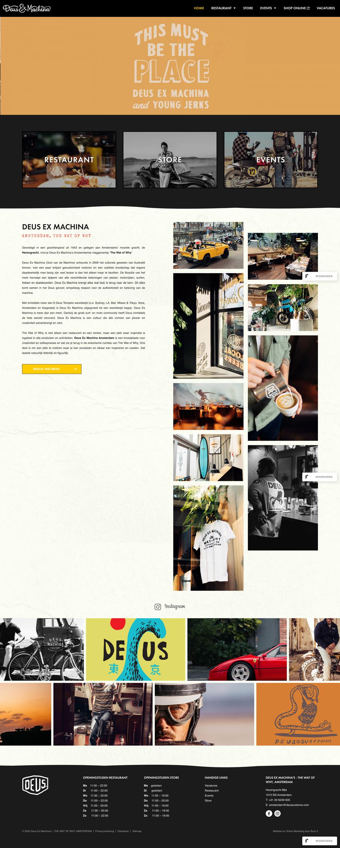 Webdesign Deus Ex Machina
